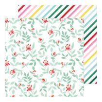 Pinkfresh Studio - Holiday Magic 12x12 Paper - Feeling Festive