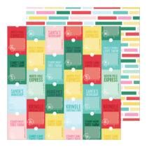 Pinkfresh Studio - Holiday Magic 12x12 Paper - Santa's Workshop