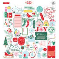 Pinkfresh Studio - Holiday Magic Ephemera