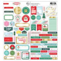 Pinkfresh Studio - Holiday Magic 6x12 Cardstock Stickers