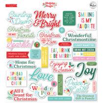 Pinkfresh Studio - Holiday Magic Title Ephemera