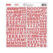 Pinkfresh Studio - Holiday Magic Chipboard Alpha Stickers