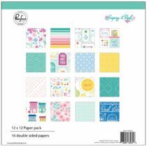 Pinkfresh Studio - Keeping it Real 12x12 Paper Pack