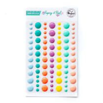 Pinkfresh Studio - Keeping it Real Enamel Dots