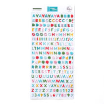 Pinkfresh Studio - Some Days Mini Alphabet Sticker