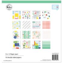 Pinkfresh Studio - Super Cool 12x12 Paper Kit