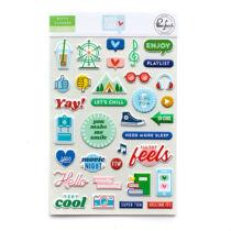 Pinkfresh Studio - Super Cool Puffy Stickers