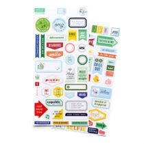 Pinkfresh Studio - Super Cool Cardstock Stickers