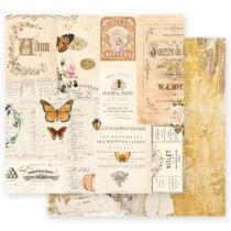 Prima Marketing - Autumn Sunset 12x12 Paper - Autumn Memories
