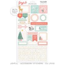 Cocoa Vanilla Studio - Joyful 6x12 Sticker