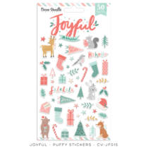 Cocoa Vanilla Studio - Joyful Puffy Stickers