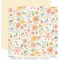 Cocoa Vanilla Studio - These Days 12x12 Paper - Home Grown