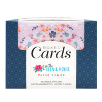 American Crafts - Paige Evans - Go the Scenic Route Cards Set (40 Cards and 40 Envelopes)