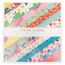American Crafts - Paige Evans - Go the Scenic Route 12x12 Paper Pad (48 Sheets)