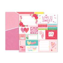 Pink Paislee - Lucky Us 12x12 scrapbook papír - 01