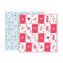 Pink Paislee - Lucky Us 12x12 scrapbook papír - 09