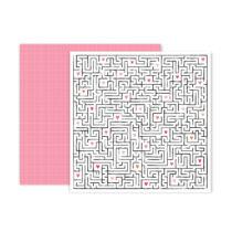 Pink Paislee - Lucky Us 12x12 scrapbook papír - 11