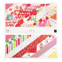 Pink Paislee - Lucky Us 12x12 papírtömb (36 lap)