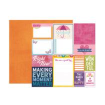 American Crafts - Paige Evans - Wonders 12x12 Paper 17