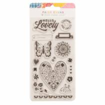 American Crafts - Paige Evans - Wonders Acrylic Stamps (17 Piece)