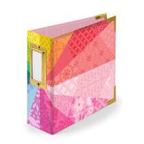 We R Memory Keepers - Paige Evans - 4x4 Paper Album - Color Wheel