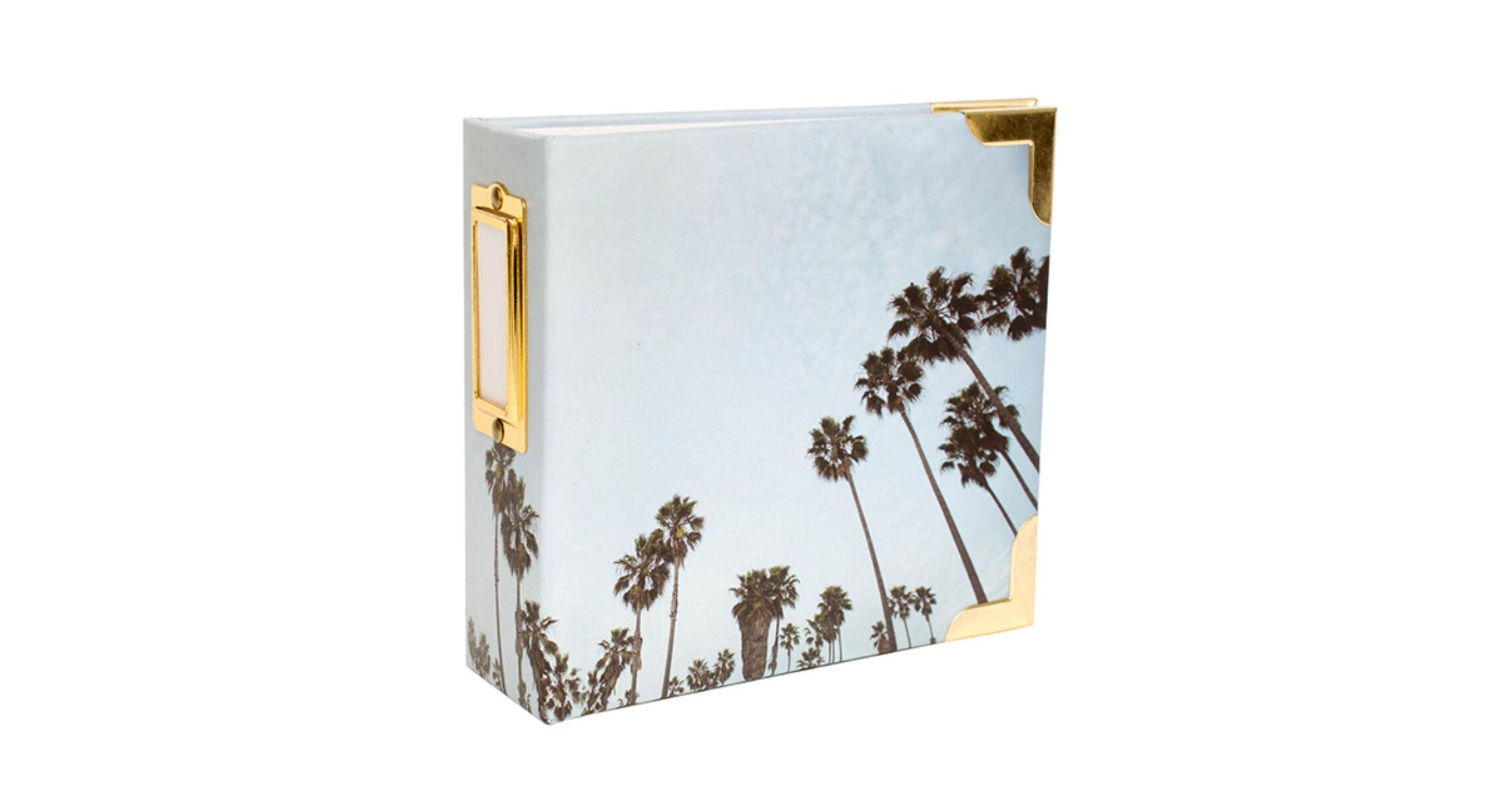 4x4 Insta Album Becky Higgins Project Life 4x4 Album Palm Tree Pink And Paper Scrapbooking Shop