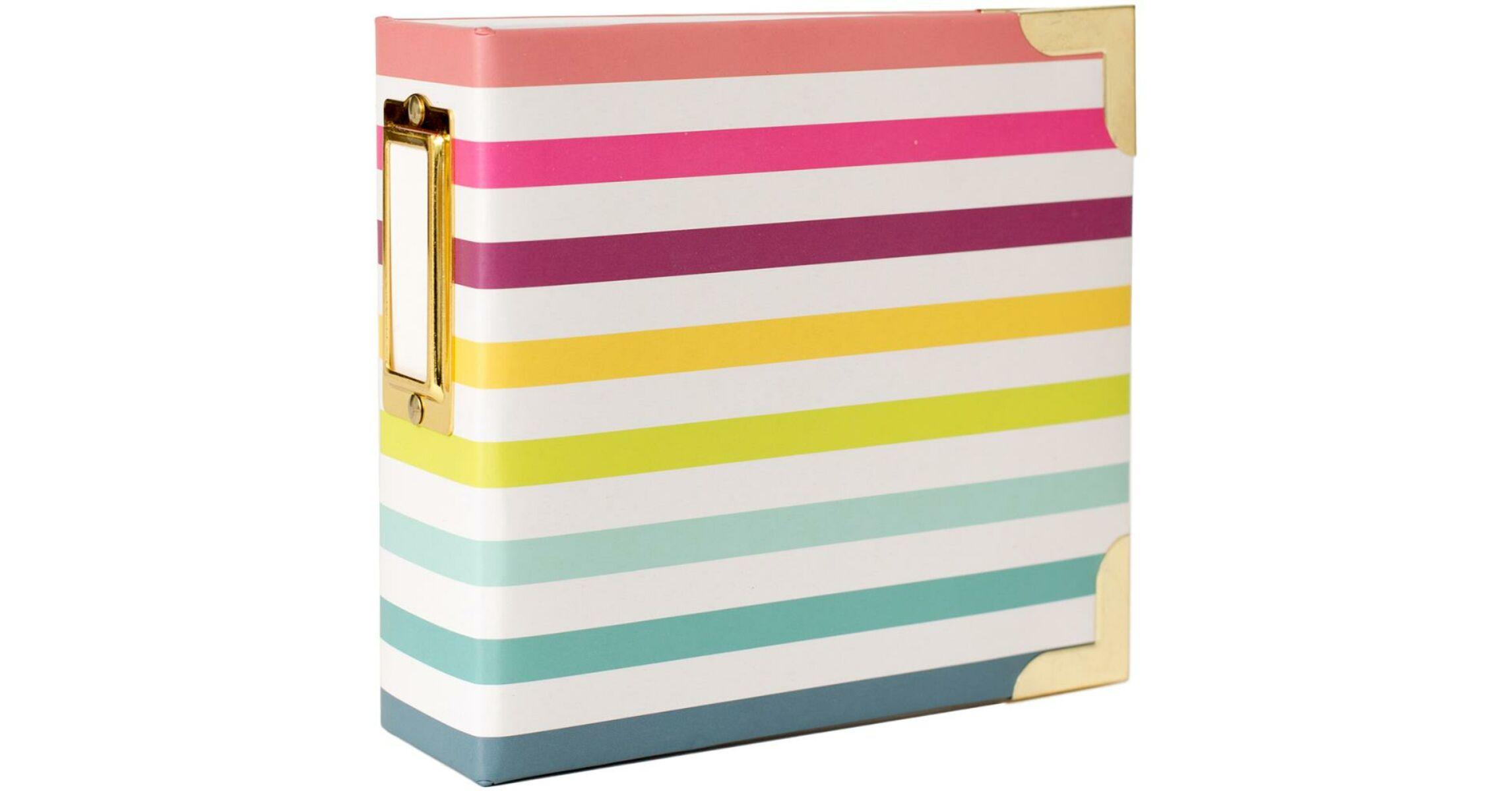 4x4 Insta Album Becky Higgins Project Life 4x4 Insta Album Stripe Pink And Paper Scrapbooking Shop