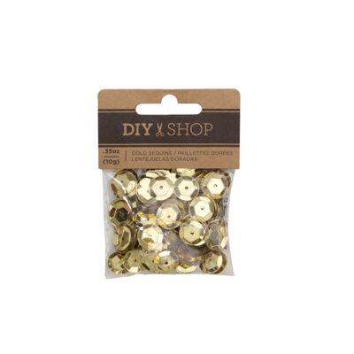 American Crafts - DIY 4 Gold Sequins