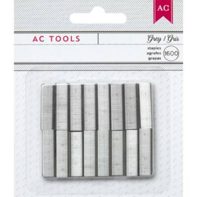 American Crafts - Mini Stapler Refills - Gray