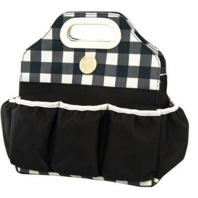 We R Memory Keepers - 360 Crafter's Bag - Tote - Plaid Black