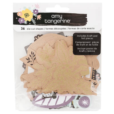 Amy Tangerine - Shine On Ephemera  36/Pkg