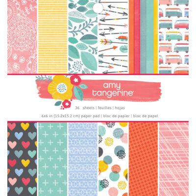 Amy Tangerine - Oh Happy Life 6 x 6 Paper Pad