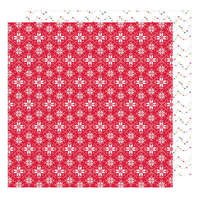 American Crafts - Sweater Weather 12x12 Paper - Close Knit