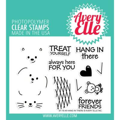 Avery Elle Clear Stamp - Hang in There