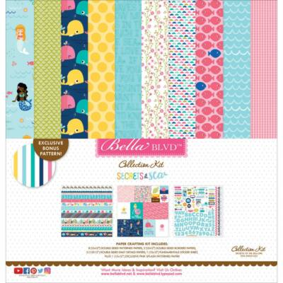 Bella Blvd - Secrets of the Sea Girl 12 x 12 Collection Kit