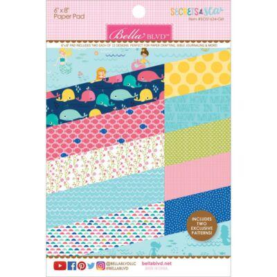 Bella Blvd - Secrets of the Sea Girl 6x8 Paper Pad