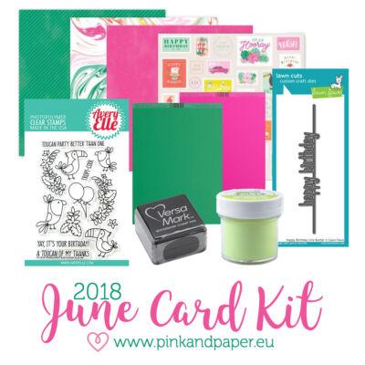 June 2018 Card Kit
