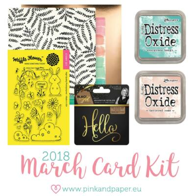 March 2018 Card Kit
