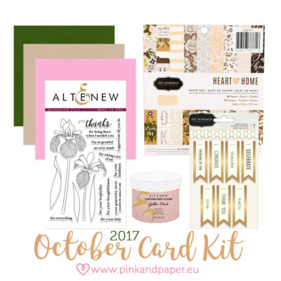 October 2017 Card Kit