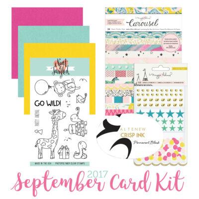 September 2017 Card Kit