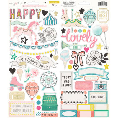 Crate Paper - Maggie Holmes Carousel 6x12 Stickers
