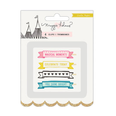 Crate Paper - Maggie Holmes Carousel Clips