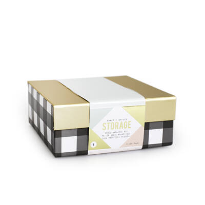 Crate Paper Storage Magnetic Box - Small