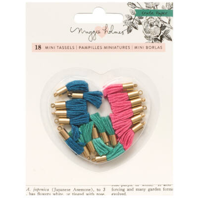 Crate Paper - Maggie Holmes Flourish Tiny Tassels