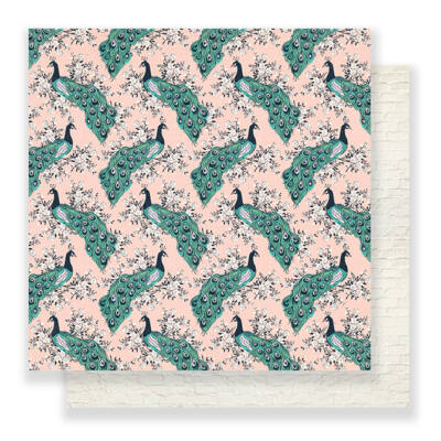 Crate Paper - Maggie Holmes Flourish 12x12 Paper - Aviary