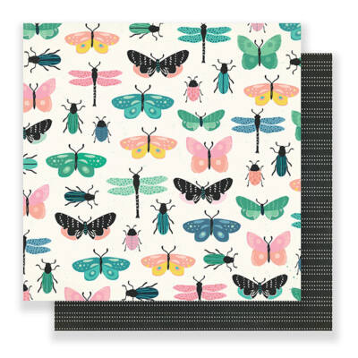 Crate Paper - Maggie Holmes Flourish 12x12 Paper - Charming