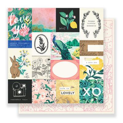 Crate Paper - Maggie Holmes Flourish 12x12 Paper - Memorable
