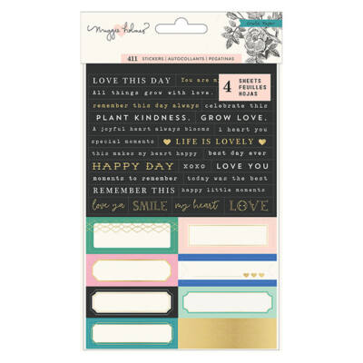 Crate Paper - Maggie Holmes Flourish Cardstock Stickers