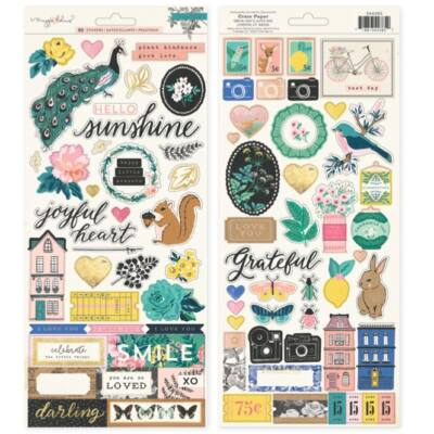 Crate Paper - Maggie Holmes Flourish 6x12 Stickers
