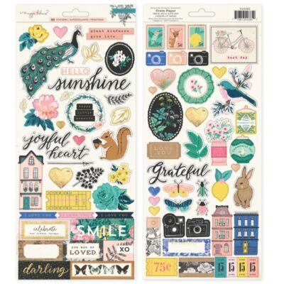 Crate Paper - Maggie Holmes Flourish 6x12 Stickers